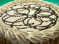 Bela čokolada torta