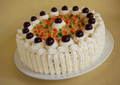 Sladoled torta sa borovnicom