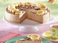 Sladoled torta pd banane i kikiriki putera
