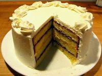 Engleska torta sa limunom i vanilom