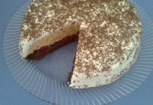 ledena torta sa keksom i visnjama